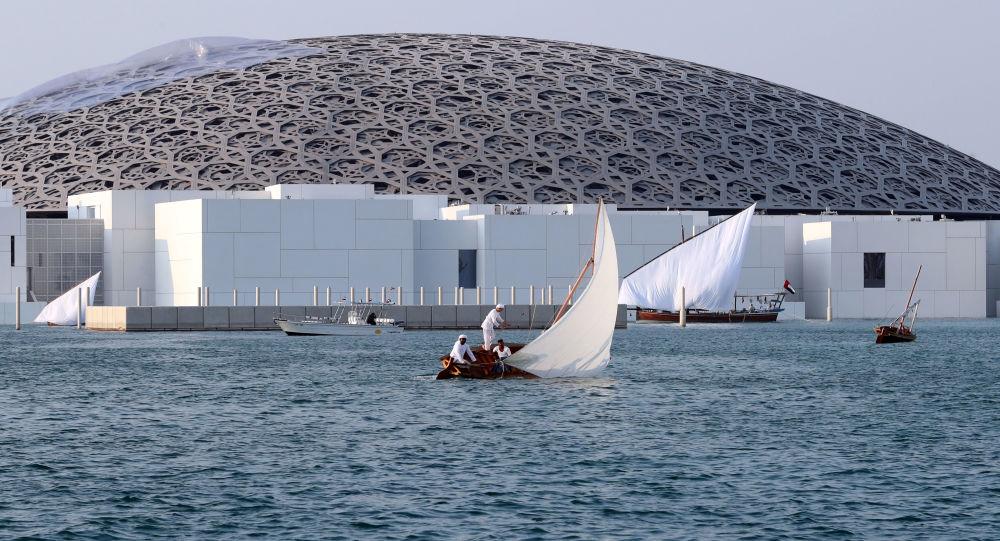 متحف اللوفر أبو ظبي في الإمارات العربية المتحدة