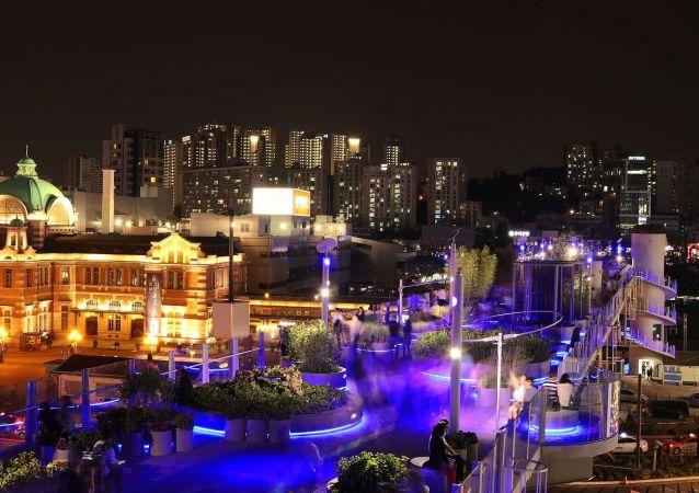 حديقة سيولو في سيئول، كوريا الجنوبية