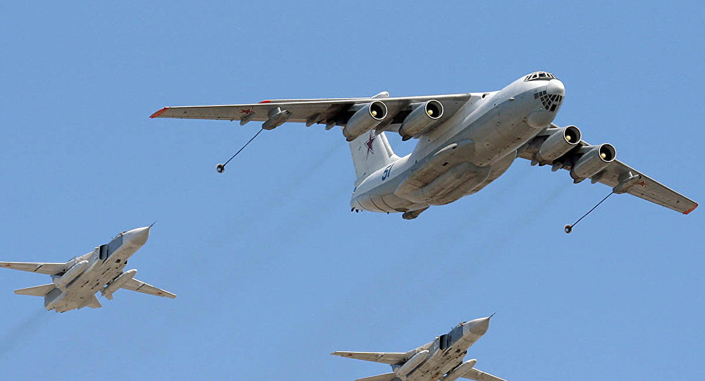 طائرات تزود بالوقود روسية إيل 78
