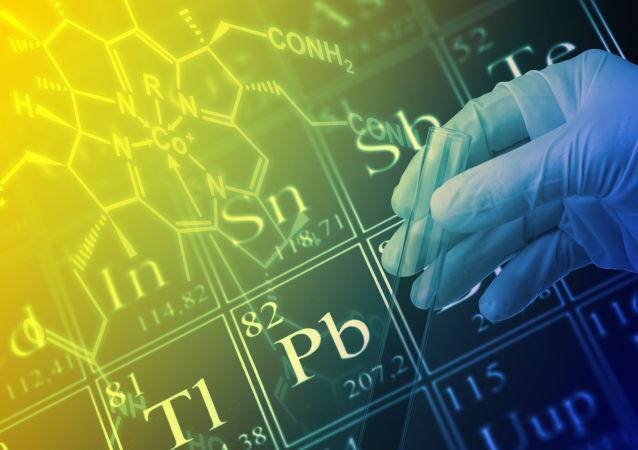 جدول مندليف للعناصر الكيميائية