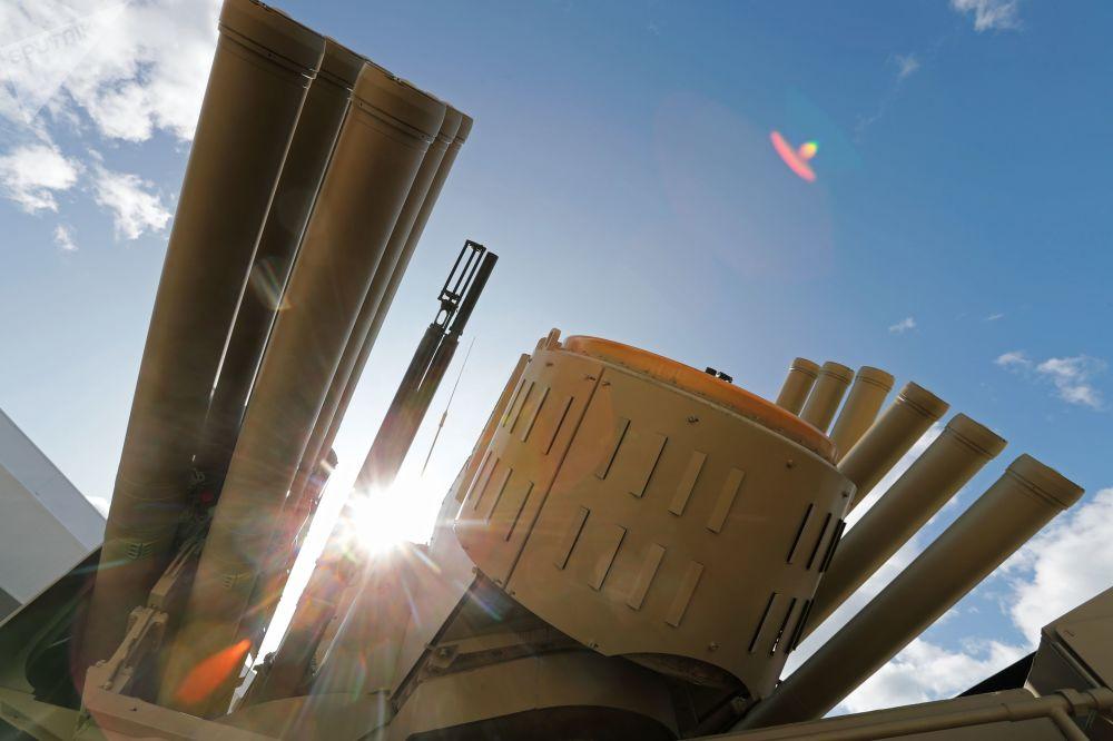 منظومة بانتسير-إس1 للدفاع الجوي في المنتدى التقني العسكري الدولي أرميا - 2018 (الجيش - 2018 في كوبينكا