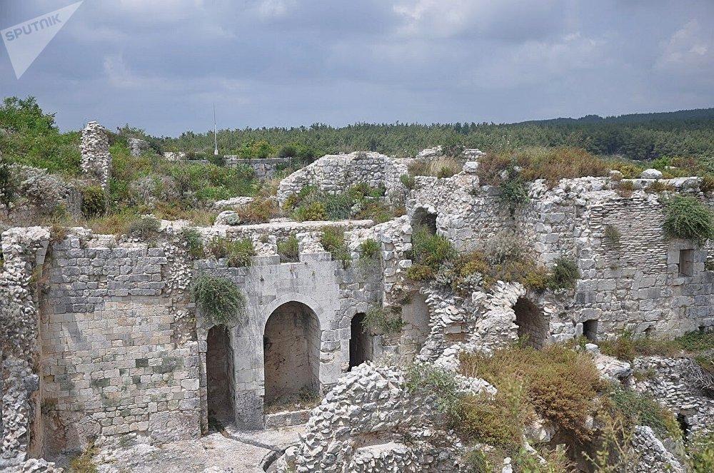 قلعة صلاح الدين في سوريا