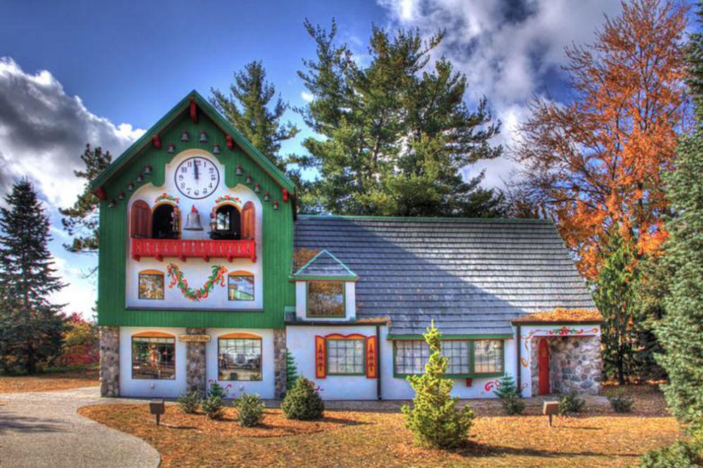 مدرسة سانتا - كلوز في ميشيغان، الولايات المتحدة