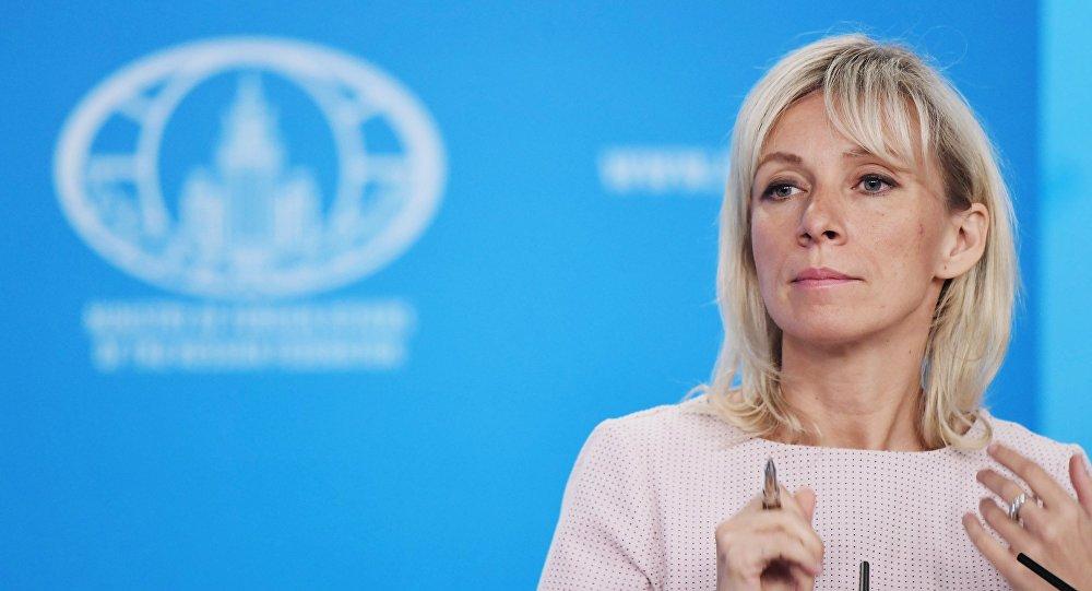 الناطقة الرسمية باسم الخارجية الروسية ماريا زاخاروفا