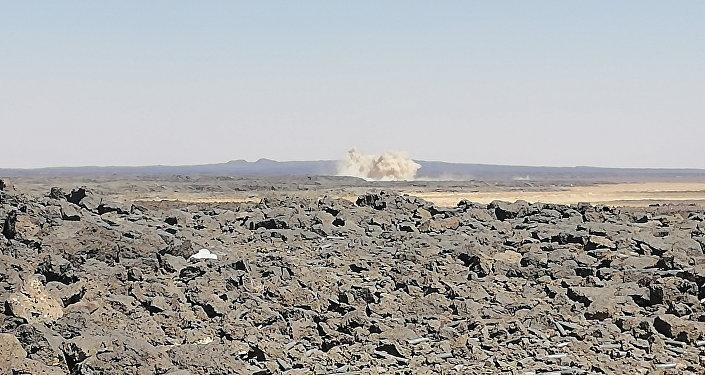 الجيش السوري في بادية السويداء يدك آخر جيوب داعش في تلول الصفا