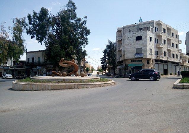 مدينة محردة في ريف حماة الشمالي