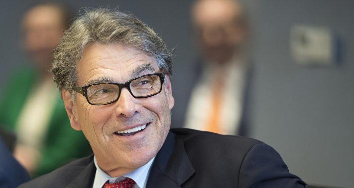 وزير الطاقة الأميركي، ريك بيري