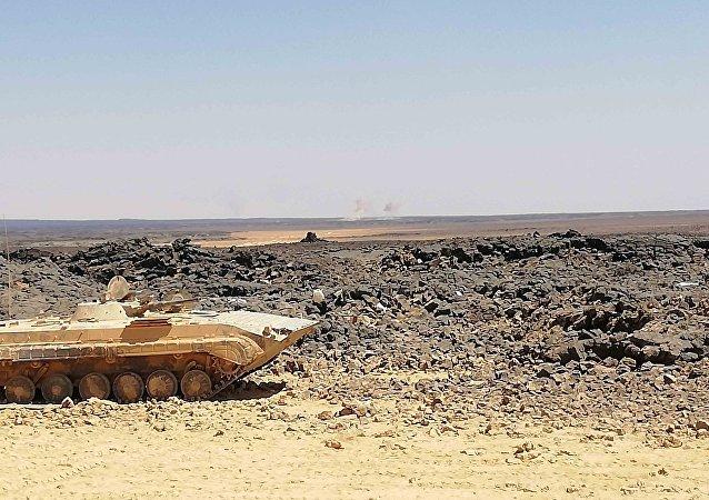 سلاحا الجو والمدفعية يسحقان داعش والبازلت يبطىء تقدم الجيش السوري بتلول الصفا