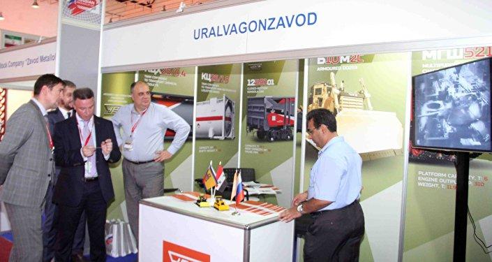 شركة أورال فاغون زافود الروسية تشارك بمعرض دمشق الدولي