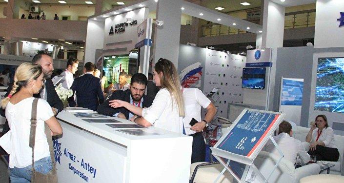 شركة ألماز أنتي الروسية تشارك في معرض دمشق الدولي