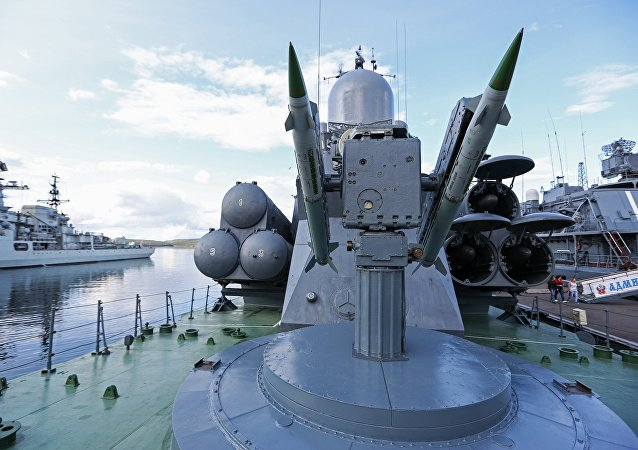 سفينة صاروخية روسية