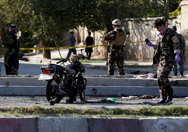 انفجار انتحاري شرقي أفغانستان
