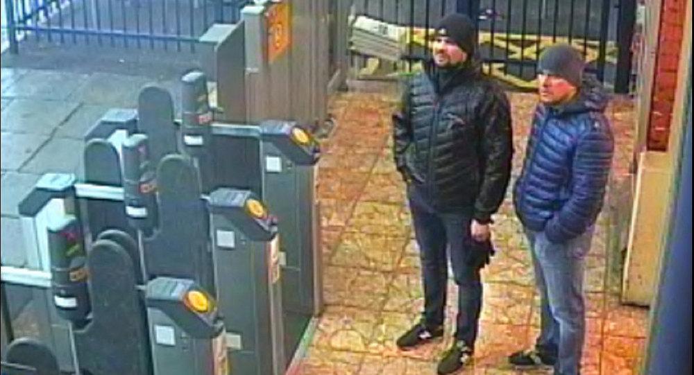 المشتبه بهما في محاولة اغتيال سيرغي سكريبال وعائلته، ألكسندر بيتروف وروسلان بوشيروف