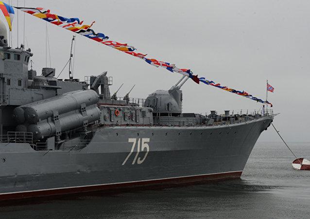 المدمرة الروسية بيستري