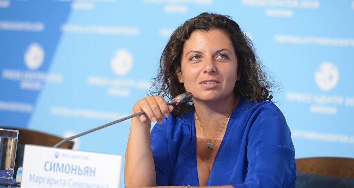 رئيسة تحرير سبوتنيك وآر تي مارغاريتا سيمونيان