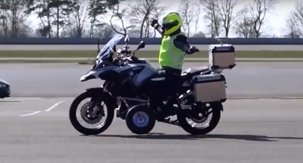 دراجة نارية ذكية