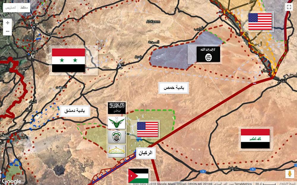 باصات خضراء في التنف... ومفاوضات روسية أمريكية لتفكيك الركبان ونقل مسلحي CIA لإدلب