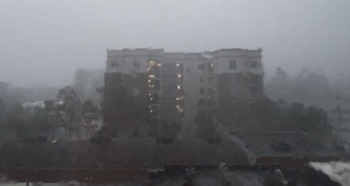 إعصار فلورنس في ويلمنغتون، ولاية نورث كارولينا (كارولينا الشمالية)، الولايات المتحدة 14 سبتمبر/ أيلول 2018