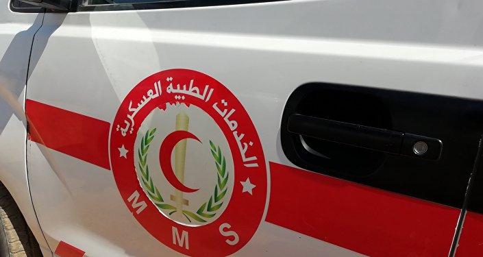 مشاف ميدانية متطورة تؤازر الأعمال القتالية في ريف حماة، سوريا