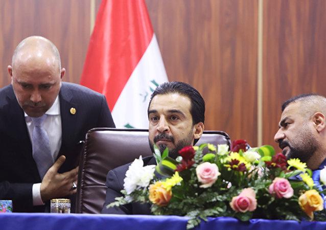 رئيس مجلس النواب العراقي محمد الحلبوسي