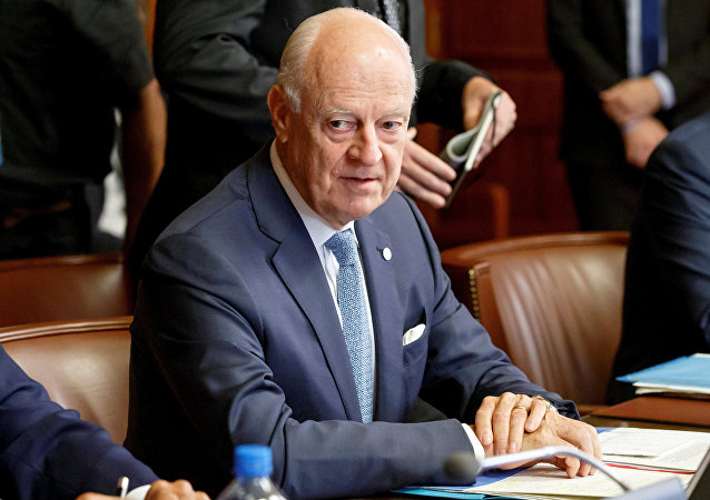 مبعوث الأمم المتحدة إلى سوريا ستيفان دي ميستورا، 11 سبتمبر/ أيلول 2018