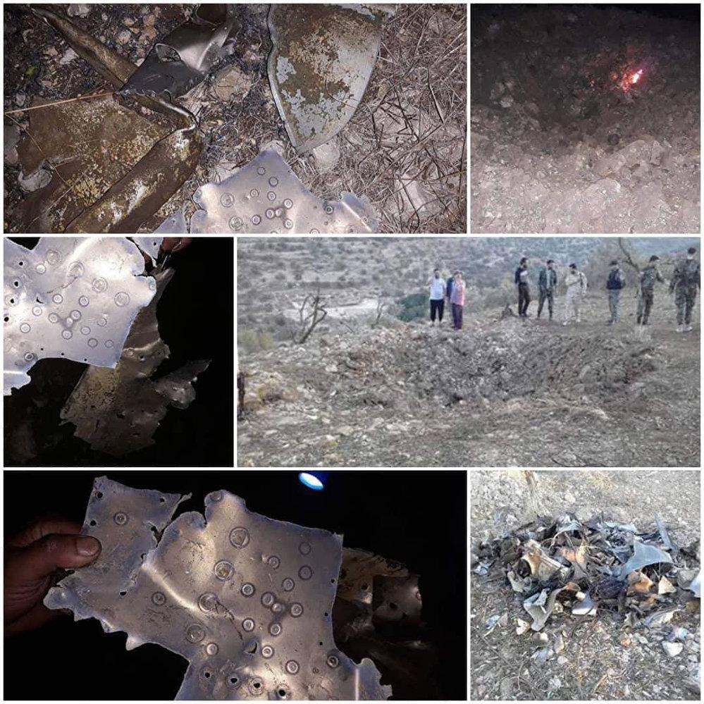 مزارعون يعثرون على حطام يرجح أنه لصاروخ أطلقته فرقاطة فرنسية على سوريا