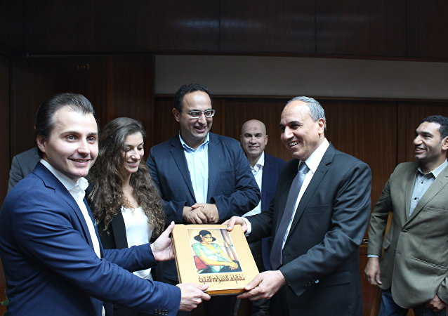 أبرمت وكالة الأنباء الدولية وإذاعة سبوتنيك، اتفاقية تعاون مع البوابة الإلكترونية لأكبر صحيفة مصرية وهي صحيفة الأهرام (18 سبتمبر 2018)