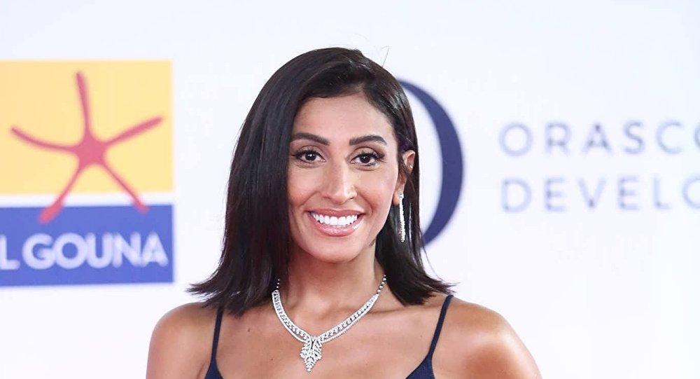الممثلة المصرية دينا الشربيني في افتتاح مهرجان الجونة السينمائي الثاني، 20 سبتمبر/أيلول 2018