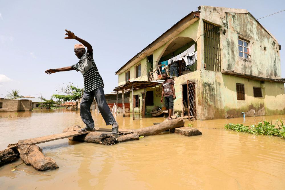 تداعيات الفياضانات في ولاية كوغي، نيجيريا 17 سبتمبر/ أيلول 2018