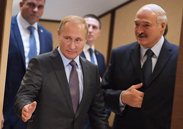 بوتين ولوكاشينكو