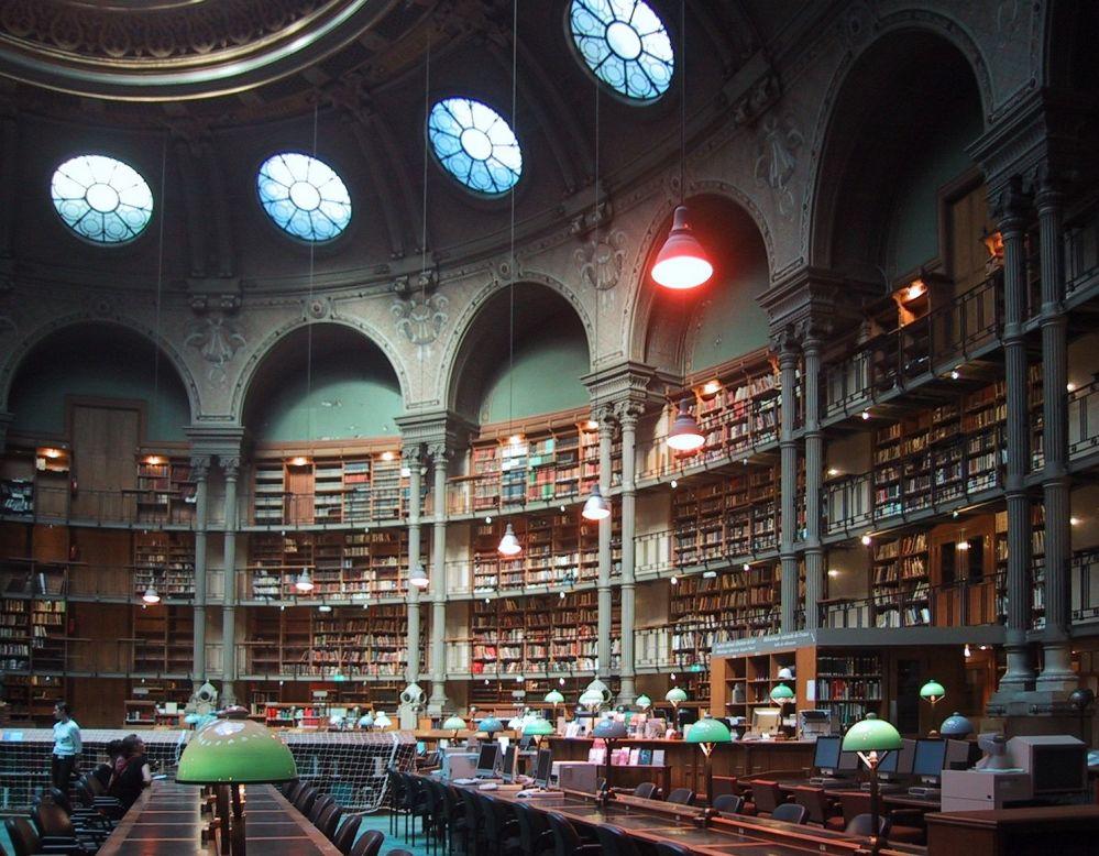 المكتبة الوطنية الفرنسية، مبنى ريشيليو