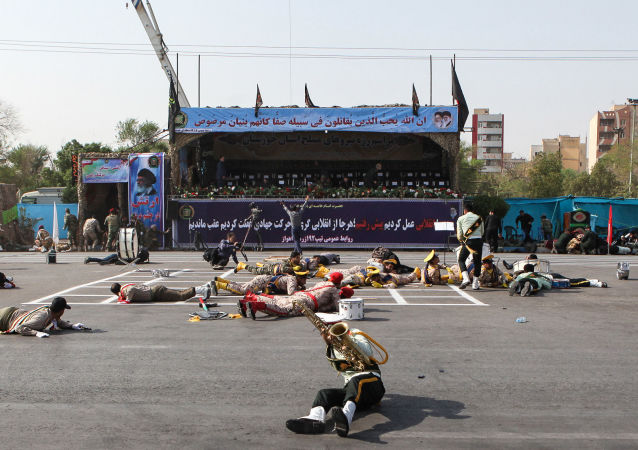 انفجار في العرض العسكري في مدينة الأهواز، إيران 22 سبتمبر/ أيلول 2018