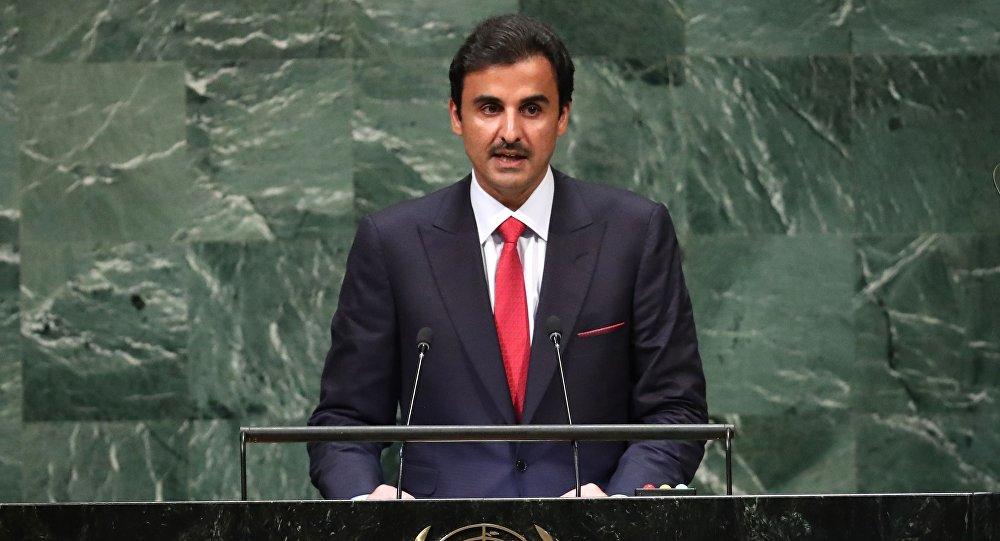 أمير قطر الشيخ تميم بن حمد آل ثاني