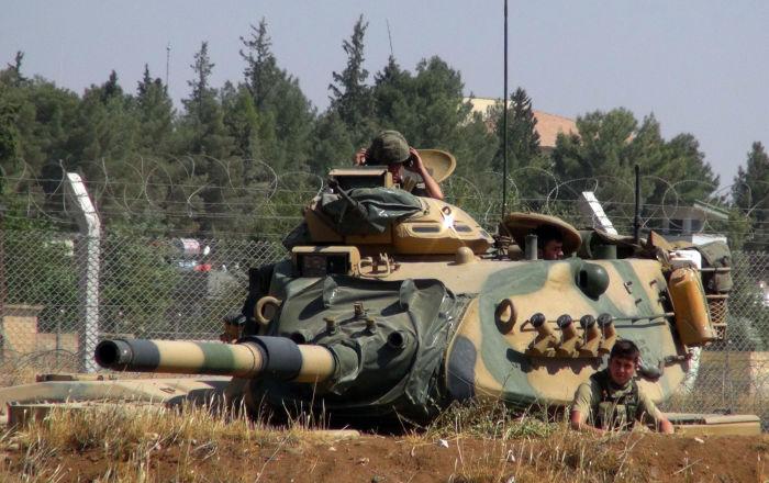 """""""النمر""""… مدرعة حربية سداسية الدفع لدعم الجيش التركي… صور وفيديو"""