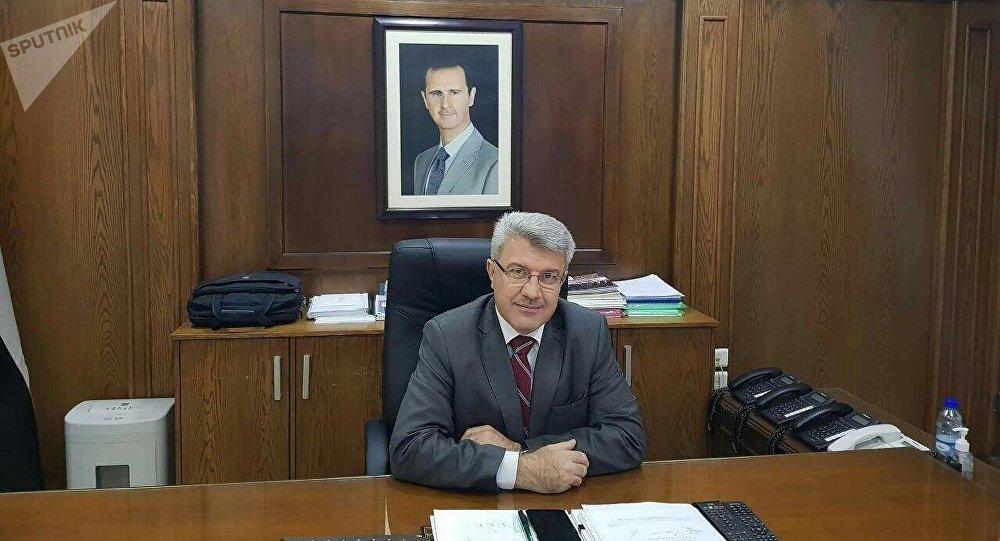 وزير الصناعة السوري محمد مازن علي يوسف