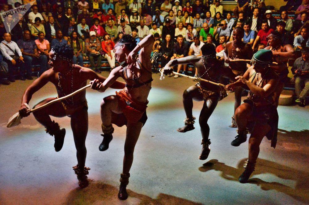 ثقافة شعب زولو في مدينة بريتوريا، جنوب أفريقيا