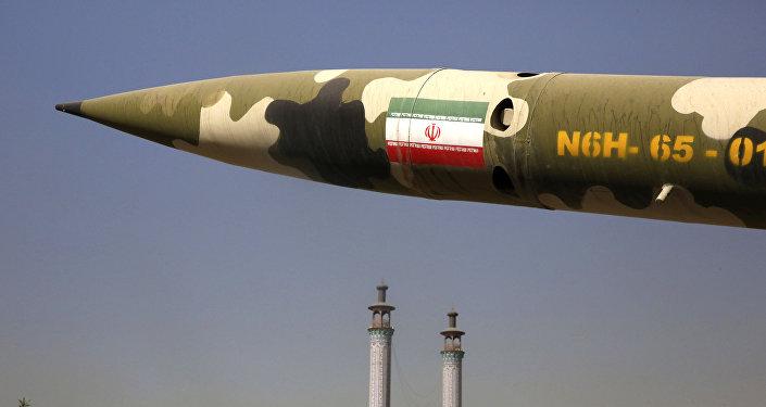 الصاروخ الباليستي الإيراني (أرشيف)