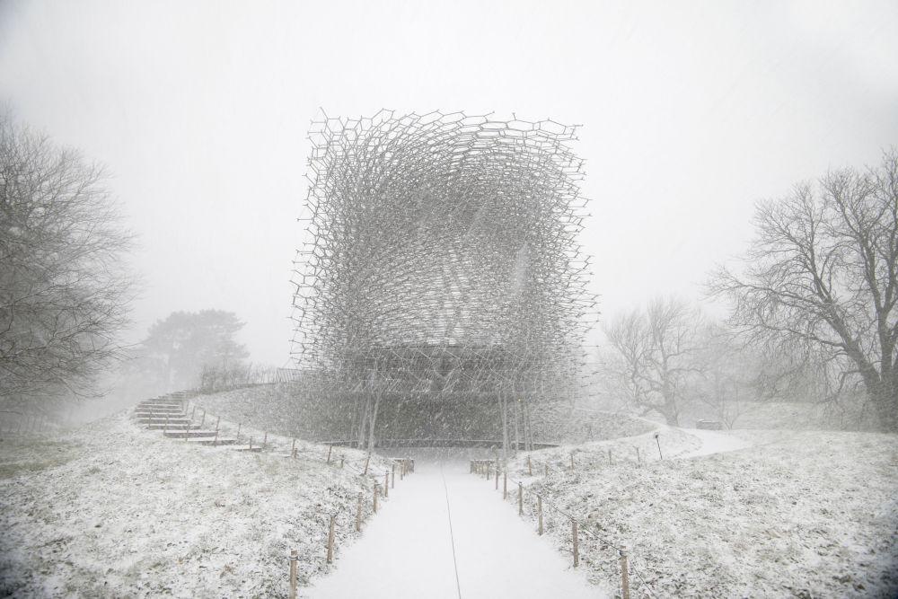 صورة لبستان ملكي، من قبل المصور جيف إدن من بريطانيا، الذي دخل ضمن قائمة المرشحين النهائيين لمسابقة جوائز فن التصوير المعماري 2018 في فئة حس المكان