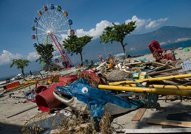 زلزال في إندونيسيا