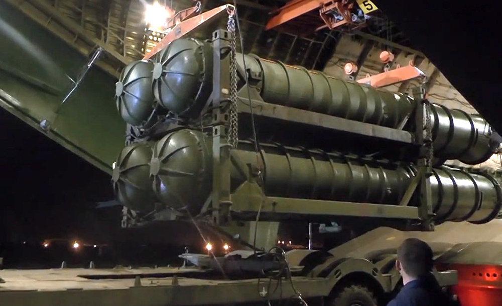 وصول منظومات الدفاع الجوي إس-300 إلى سوريا