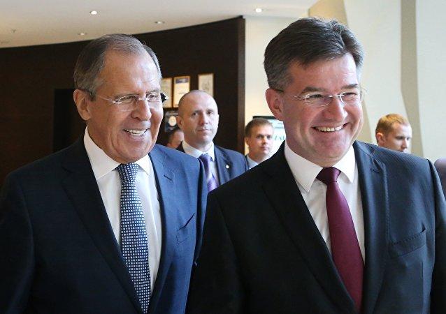 وزير الخارجية السلوفاكي ميروسلاف لايتشاك