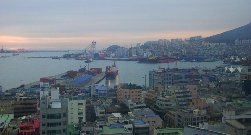 ميناء بوسان