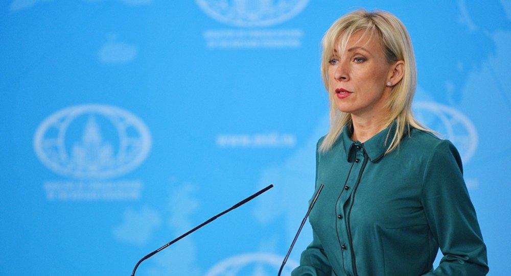 مؤتمر صحفي للمتحدثة الرسمية باسم الوزارة الخارجية الروسية ماريا زاخاروفا، 4 أكتوبر/ تشرين الأول 2018