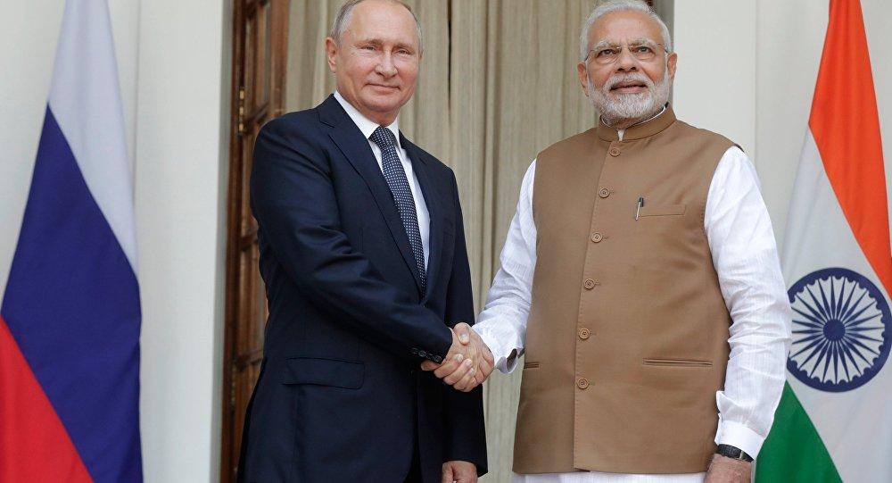 زيارة بوتين إلى الهند