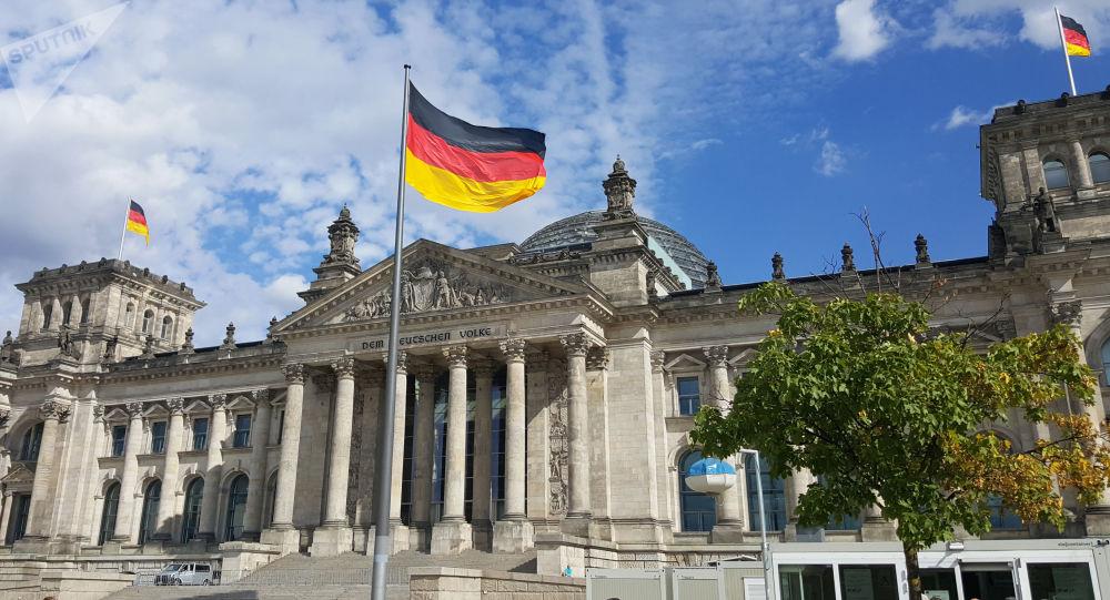مبنى البرلمان في برلين