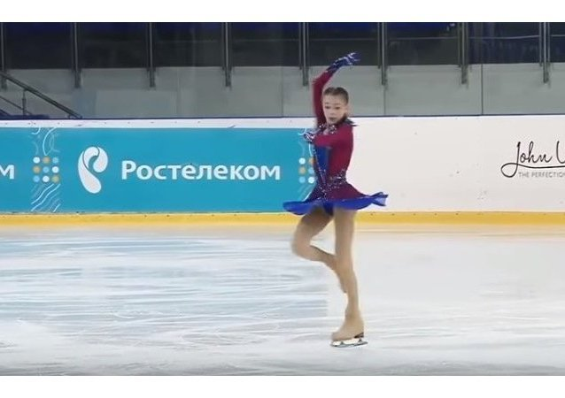 متزلجة روسية آنا شيرباكوفا