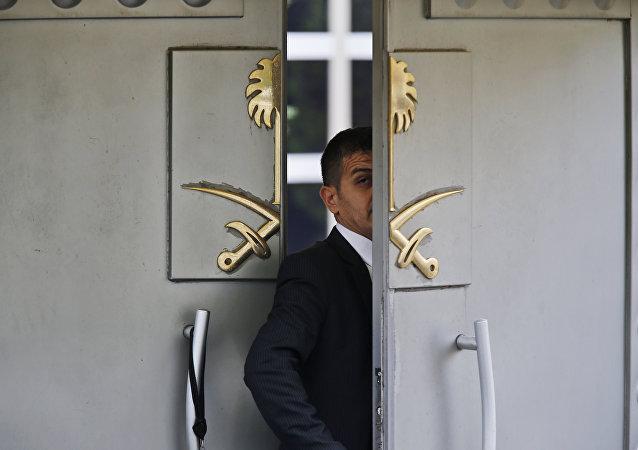 السفارة السعودية في اسطنبول، تركيا 10 أكتوبر/ تشرين الأول 2018