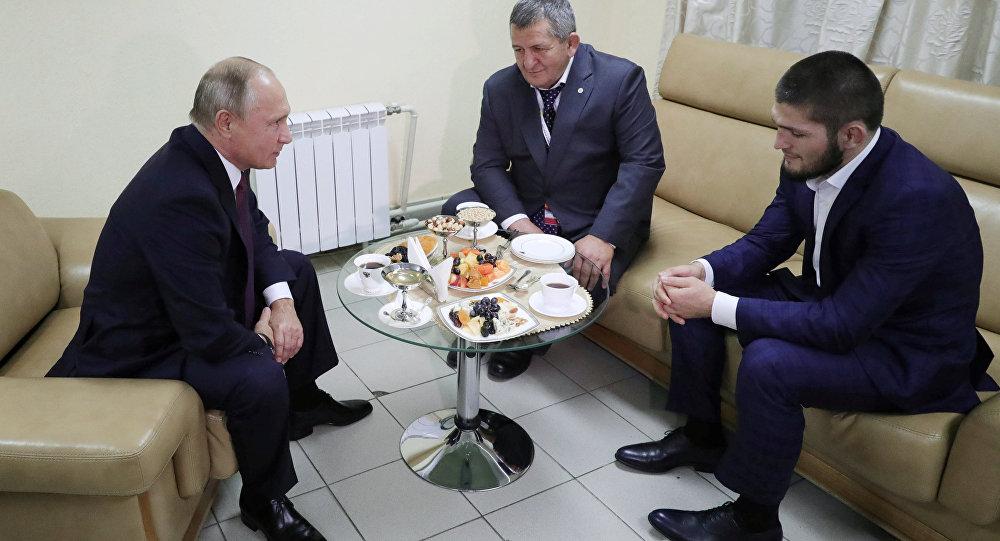 بوتين ونورمحمدوف