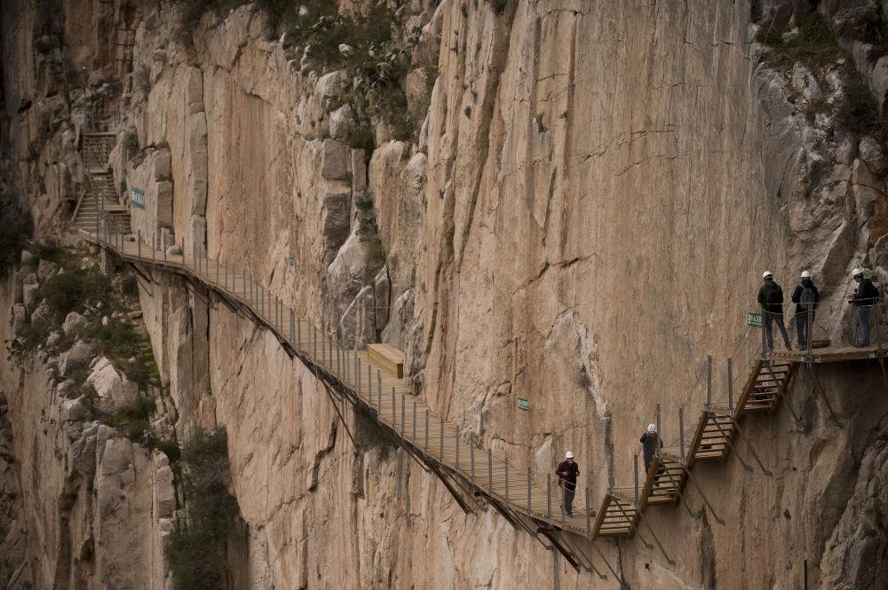 طريق ملكي (El Caminito del Rey) في مالقة، إسبانيا