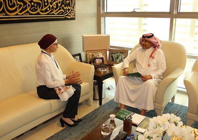 صاحب السمو الملكي الأمير خالد بن تركي آل سعود  في لقاء مع وكالة سبوتنيك
